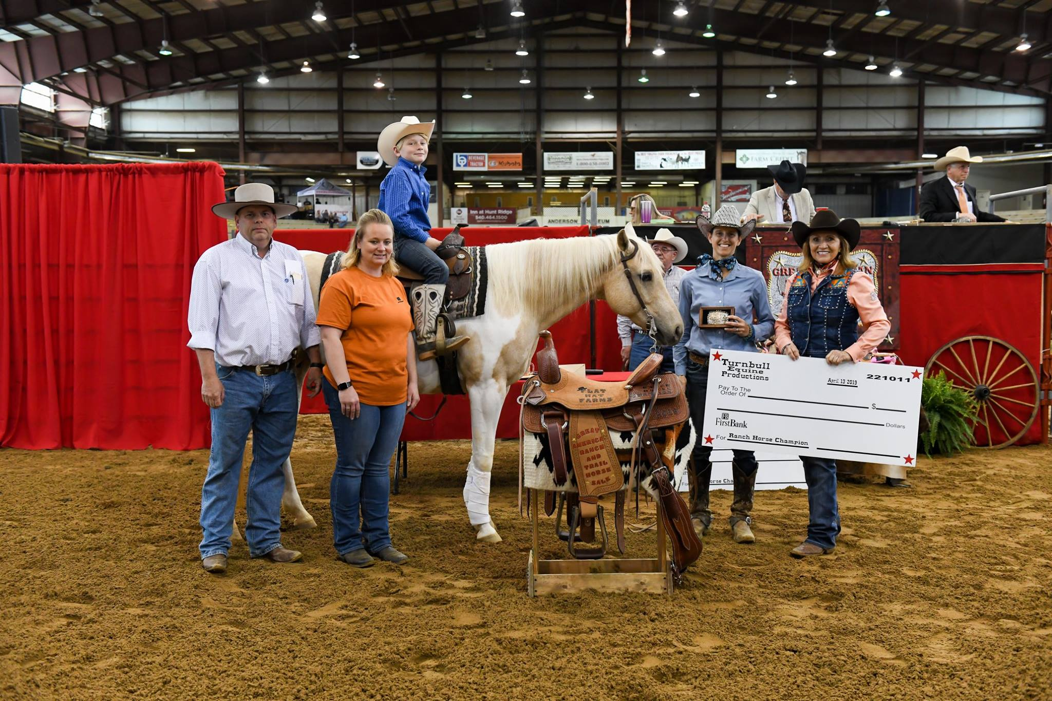 Great American Ranch and Trail Horse Sale – With horse